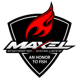maxel fishing logo